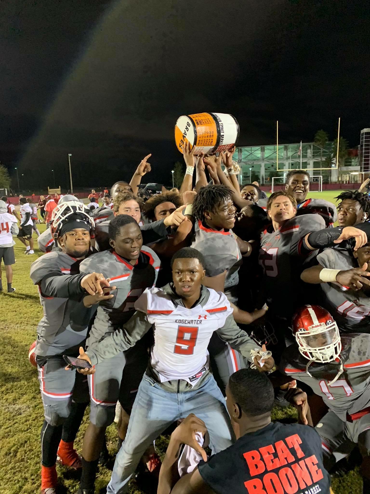 Edgewater High School Football Team Reflects On Winning 2018 Season